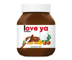 nutella and love ya image