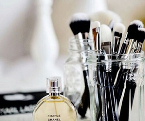 chanel, make up, and Brushes image