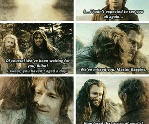 the hobbit, the lord of the rings, and fili image