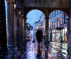 rain and winter image