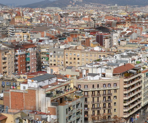 Barcelona, building, and city image