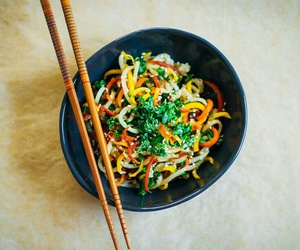 noodles, veggie, and nocarbs image