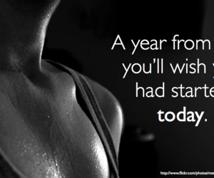 motivation, workout, and year image