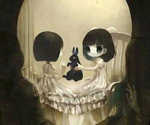 skull, art, and anime image
