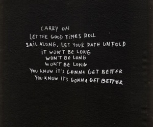 5sos, carry on, and Lyrics image