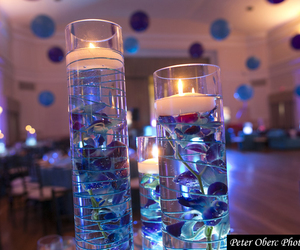 centerpieces, flowers, and xv image