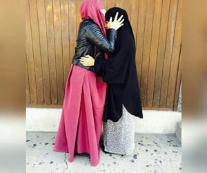 hijab, jilbeb, and shab image