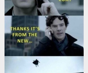 sherlock, funny, and lol image
