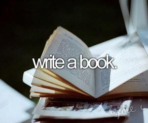 book, before i die, and write image