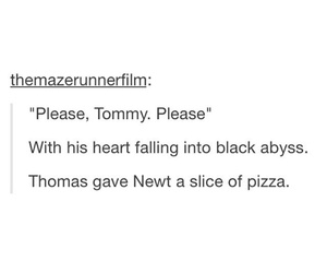 funny, newt, and thomas brodie-sangster image