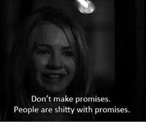 people, promises, and shitty image
