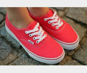 cool, red vans, and best shoes image