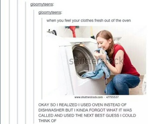 tumblr, funny, and dryer image