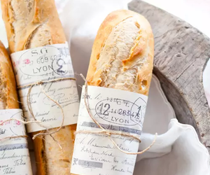 bread, food, and french image
