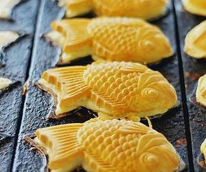 food, fish, and taiyaki image