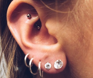 cool, ear, and earing image