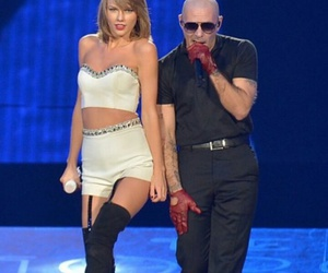 pitbull and Taylor Swift image