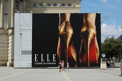advertising, berlin, and Elle image
