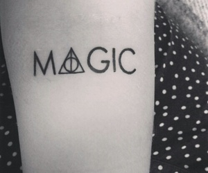 magic and tatto image