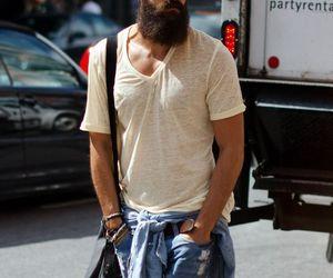 beard, man, and men image