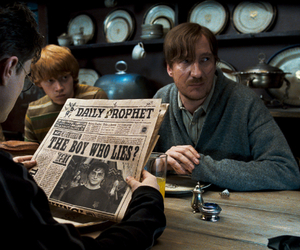 harry potter, ron weasley, and remus lupin image