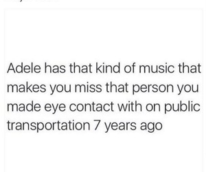 Adele, music, and funny image