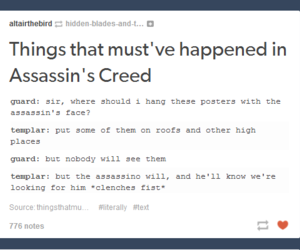 Assassins Creed, funny, and game image