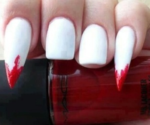 nails, vampire, and red image