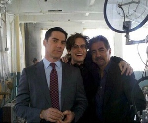 criminal minds, spencer reid, and thomas gibson image