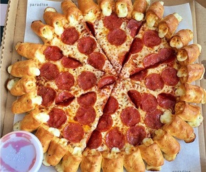 beautiful, food, and pizza hut image