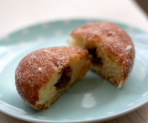 dessert, yummy, and donut image