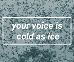 grunge, cold, and ice image