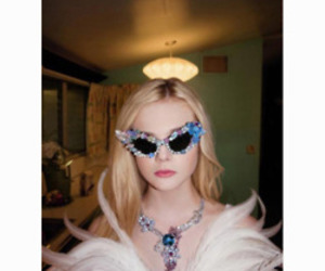Elle Fanning, girl, and actress image