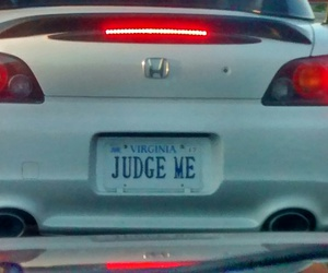 car, license, and vanity plate image