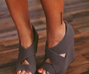 shoes, fashion, and grey image