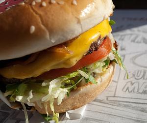 bacon, bun, and cheese image
