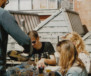 friends, breakfast, and party image