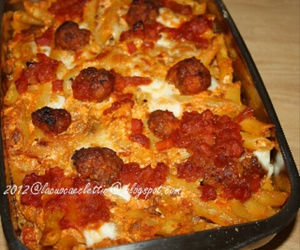 food, meatball, and delicious image