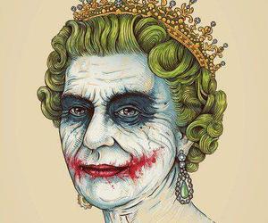 joker, Queen, and batman image