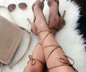 bag, heels, and chill image