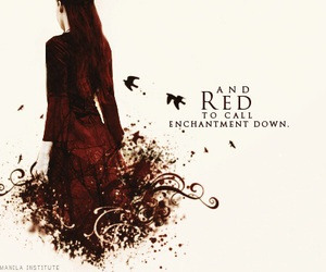 red, shadowhunters, and tmi image