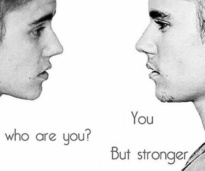 justin bieber, strong, and justin image