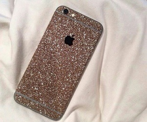 iphone, glitter, and luxury image