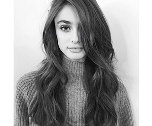 model, taylor hill, and hair image