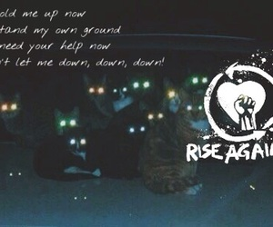 rise against and songtext image