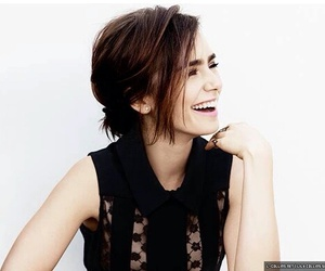 lily collins, smile, and the mortal instruments image