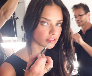 Adriana Lima, model, and makeup image