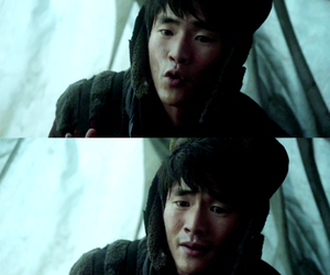 the 100 and monty green image