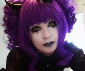 Halloween and purple image
