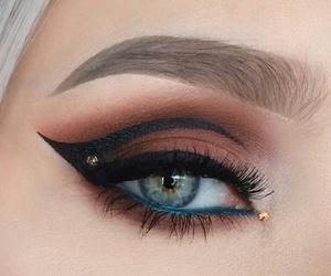 beautiful, maquillaje, and make up image